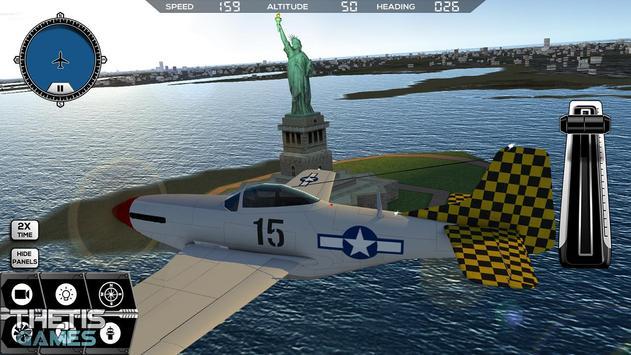 Flight Simulator 2017 FlyWings Free ScreenShot3