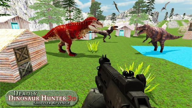 Deadly Dinosaur Hunter Revenge Fps Shooter Game 3D ScreenShot3