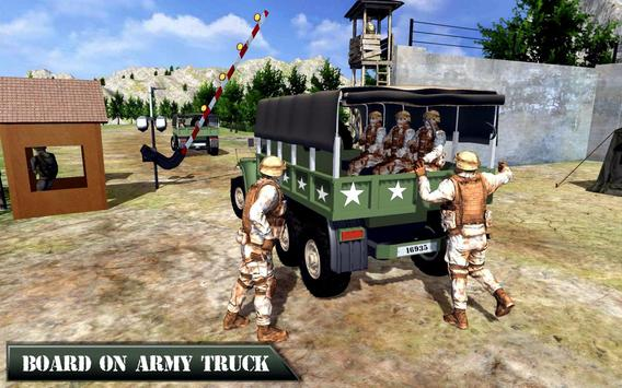 US Army Offroad Truck Driver 3D ScreenShot3