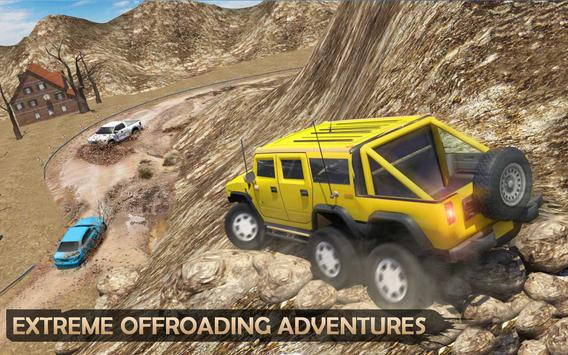 Extreme Offroad Mud Truck Simulator 6x6 Spin Tires ScreenShot3