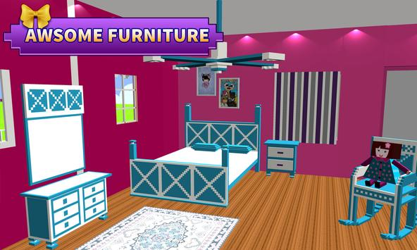 Doll House Design and Decoration : Girls House Games ScreenShot3