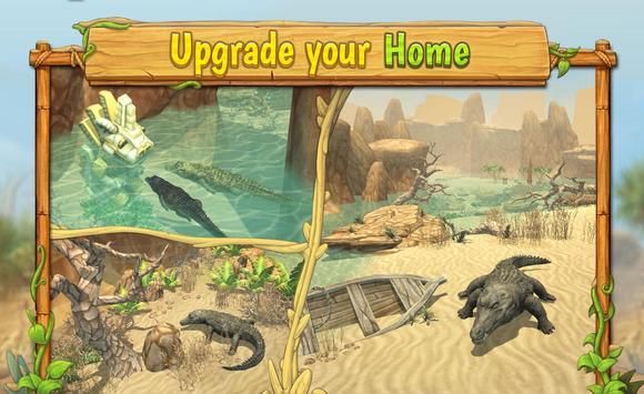Crocodile Family Sim : Online ScreenShot3