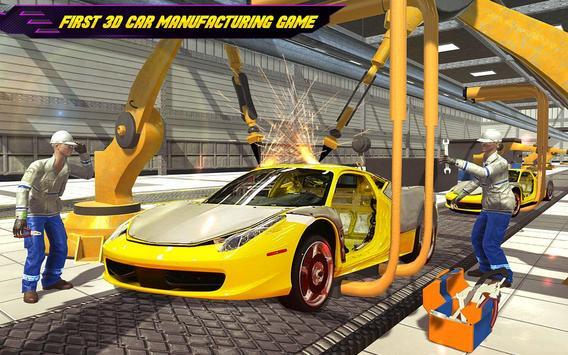 Car Maker Auto Mechanic Sports Car Builder Games ScreenShot3