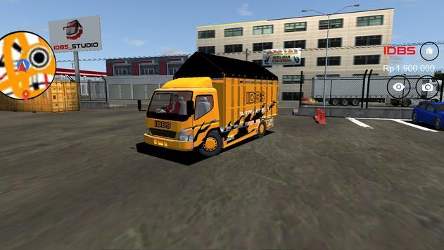IDBS Indonesia Truck Simulator ScreenShot3