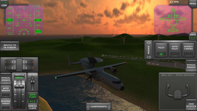 Turboprop Flight Simulator 3D ScreenShot3