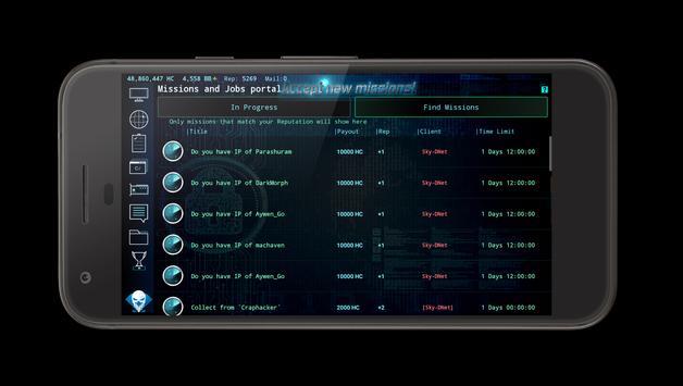Hackers Online (MMO Simulator) ScreenShot3