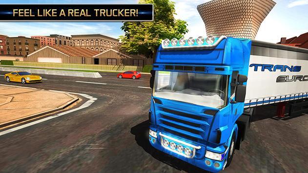 Euro Truck Driving Simulator 2018 ScreenShot3