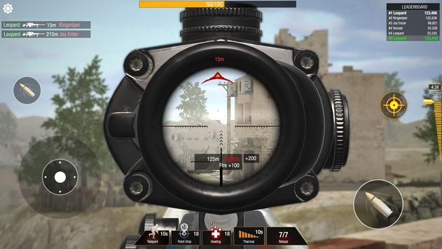 Bullet Strike: Sniper Games  Free Shooting PvP ScreenShot3