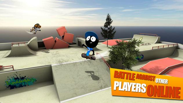 Stickman Skate Battle ScreenShot3
