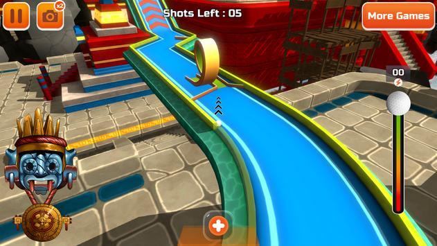 Mini Golf 3D City Stars Arcade  Multiplayer Rival ScreenShot3