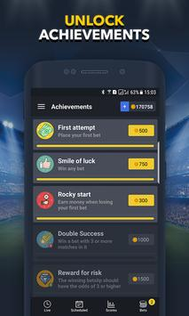 Sports Betting Game  BETUP ScreenShot3