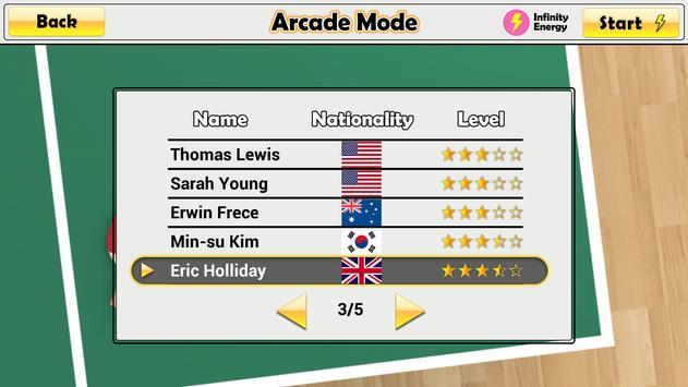 Virtual Table Tennis ScreenShot3