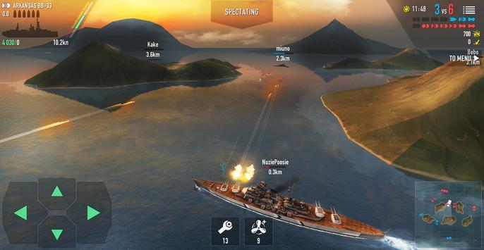 Battle of Warships: Naval Blitz ScreenShot3