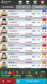 Club Soccer Director 2019  Soccer Club Management ScreenShot3