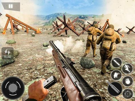 World War II Survival: FPS Shooting Game ScreenShot3