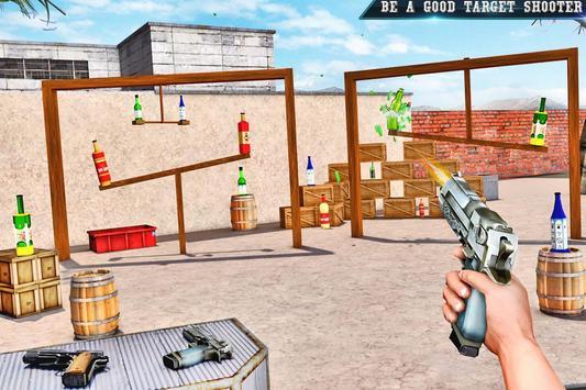 Real Bottle Shooting Free Games ScreenShot3