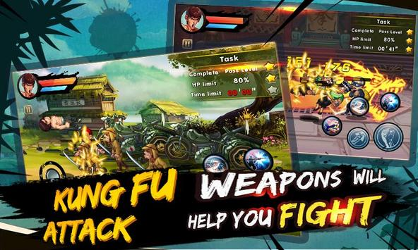 ung Fu Attack:Offline Action RPG ScreenShot3