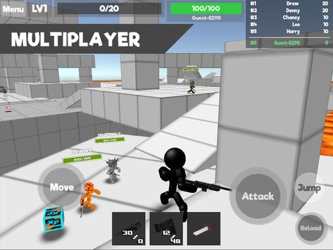 Stickman Unknown Battlegrounds ScreenShot3