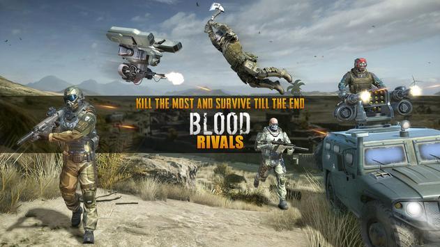 Blood Rivals  Survival Battleground FPS Shooter ScreenShot3