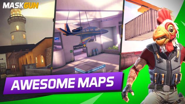 MaskGun Multiplayer FPS  Free Shooting Game ScreenShot3