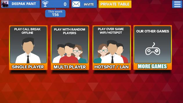 Call Break Card Game ScreenShot3