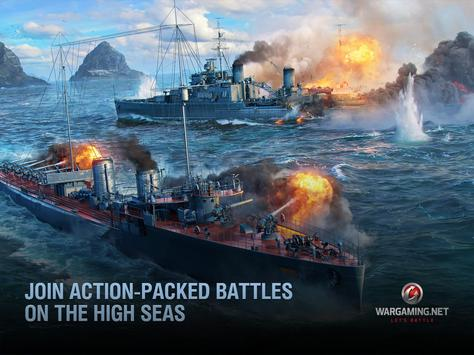 World of Warships Blitz: Gunship Action War Game ScreenShot3