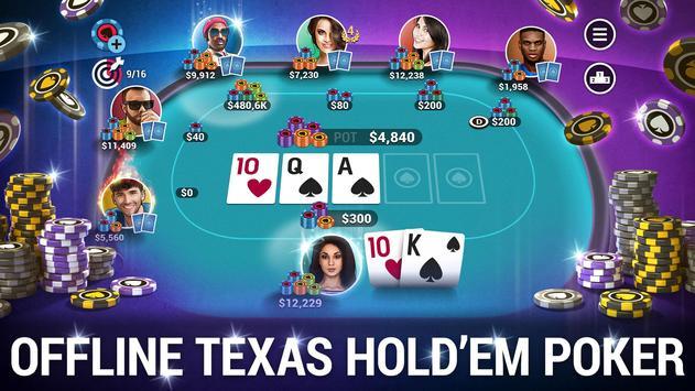 Poker World  Offline Texas Holdem ScreenShot3
