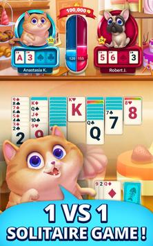 Solitaire Pets Arena  Online Free Card Game ScreenShot3