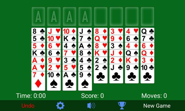 FreeCell Solitaire ScreenShot3