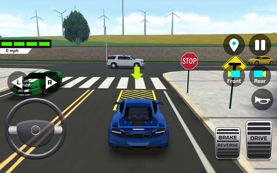 Car Driving and Parking School ScreenShot3