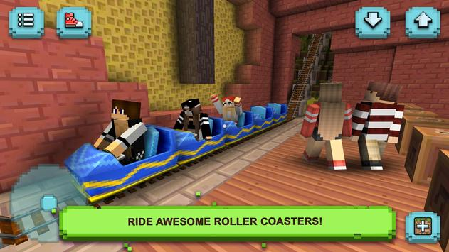 Theme Park Craft: Build and Ride ScreenShot3
