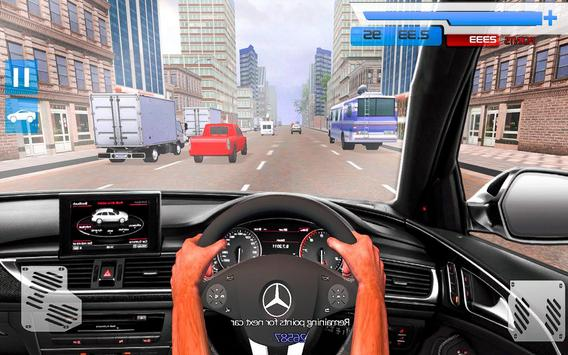 Drive in Car on Highway : Racing games ScreenShot3