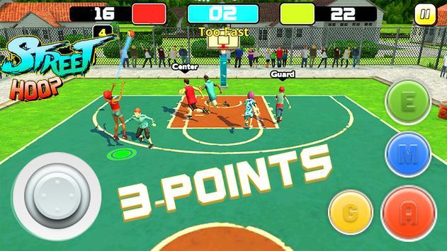 Street Hoop: Basketball Playoffs ScreenShot3