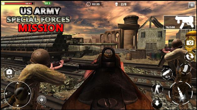 US Army Special Forces Commando World War Missions ScreenShot3