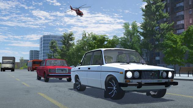 Russian Car Lada 3D ScreenShot3
