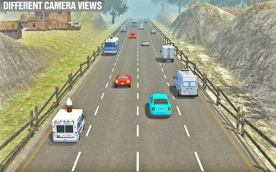 Crazy Car Traffic Racing: crazy car chase ScreenShot3