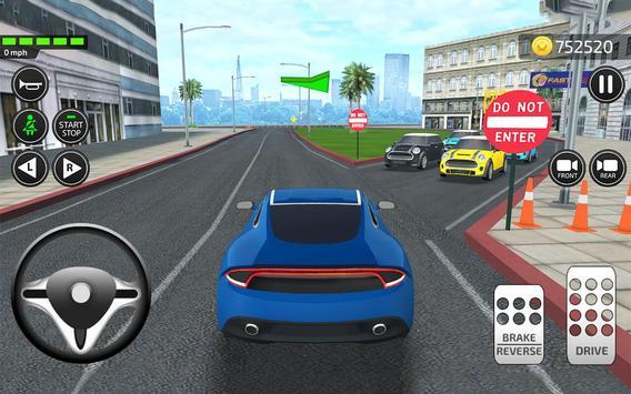 Driving Academy  Car School Driver Simulator 2019 ScreenShot3