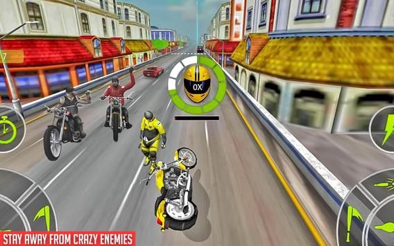 Crazy Bike attack Racing New: motorcycle racing ScreenShot3