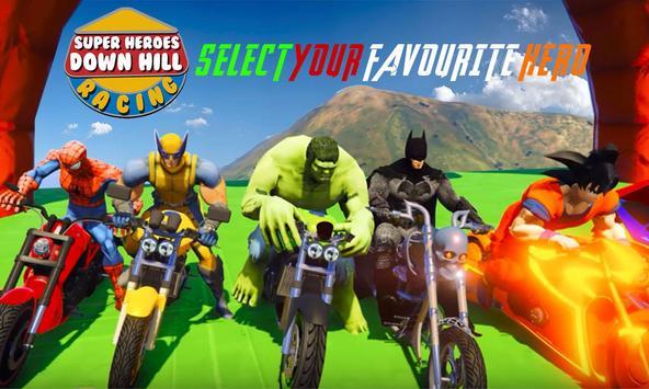 Super Heroes Downhill Racing ScreenShot3