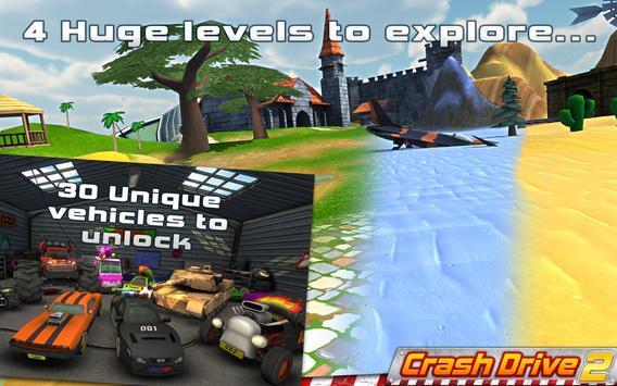 Crash Drive 2: 3D racing cars ScreenShot3
