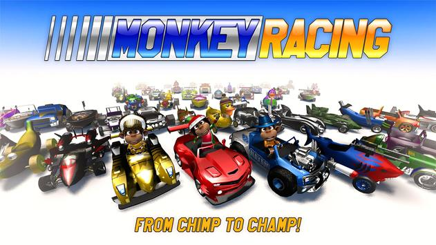 Monkey Racing Free ScreenShot3