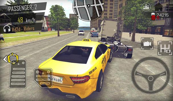 Crazy Open World Driver  Taxi Simulator New Game ScreenShot3