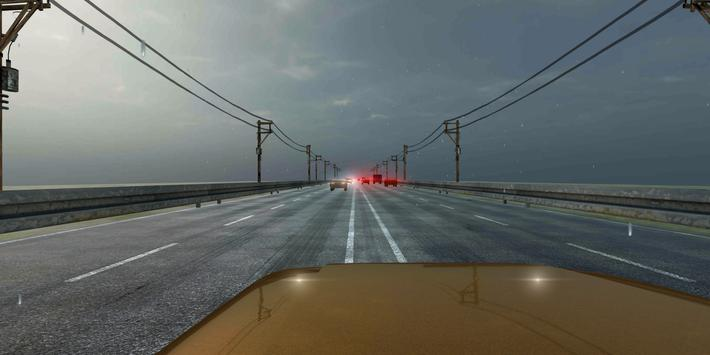 VR Racer  Highway Traffic 360 (Google Cardboard) ScreenShot3