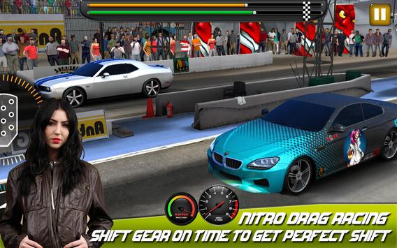 Fast cars Drag Racing game ScreenShot3