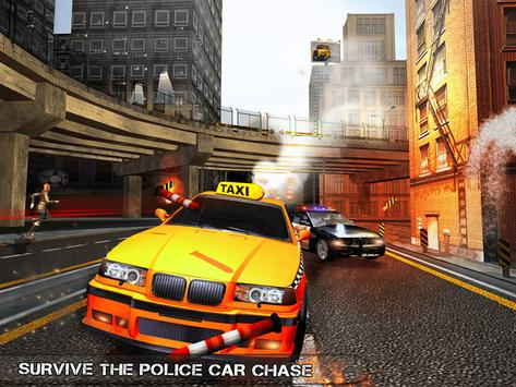 Pro TAXI Driver Crazy Car Rush ScreenShot3