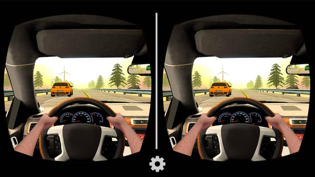 VR Traffic Racing In Car Driving : Virtual Games ScreenShot3