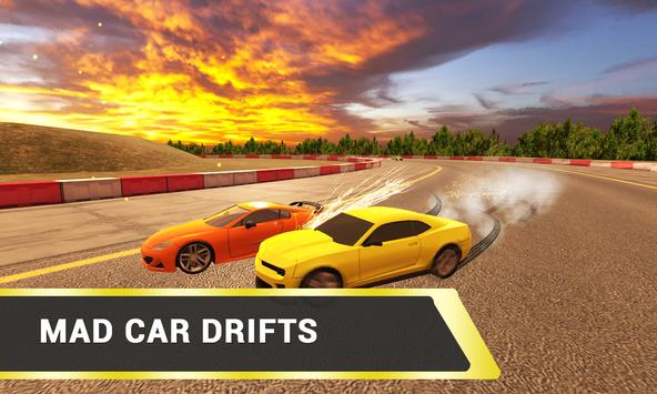 Airborne Real Car Racing Free Game ScreenShot3