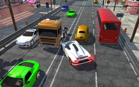 racing in car 2018  city traffic racer driving ScreenShot3