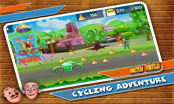 Motu Patlu Cycling Adventure ScreenShot3